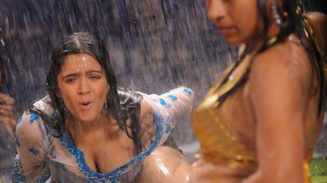 Charmi Kaur Deep Cleavage Hot  Photos