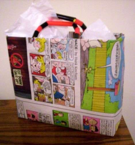 Craft Idea of the Day : Cereal Box Gift Bags