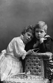 Princess Mary and Prince Edward, circa 1901