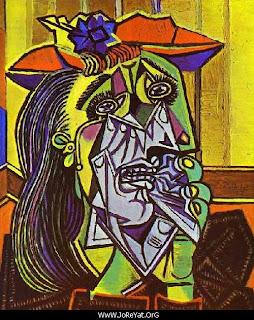 1edde3822 من اشهر لوحاتة فى الفترة التكعيبية عام 1937 ، ويقال انها تجسيد لزوجته (  دورا مارا ) التى اقترن بها فى عام 1935 ، وانجبت له ولديه ( صن فرانسواز ،  جيلو ) ...