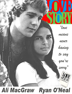 """Movie Review: """"Love Story"""" (1970)   Lolo Loves Films  Love Story 1970 Poster"""