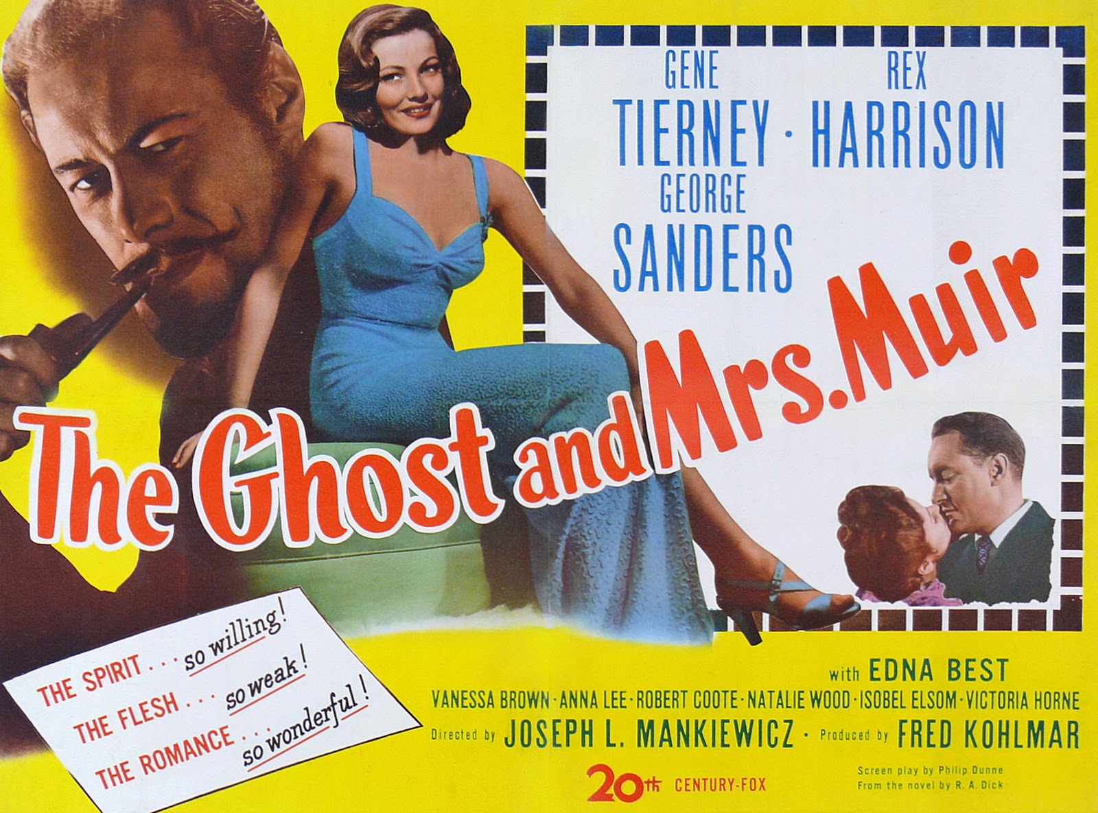 Image result for THE GHOST AND MRS MUIR 1947 movie