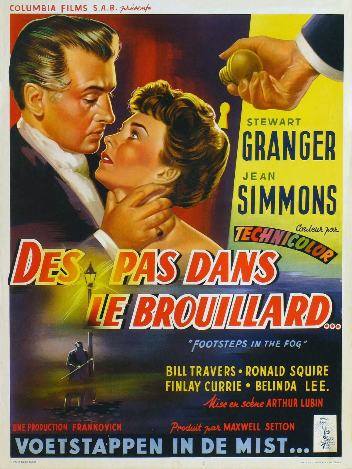 Movie Posters Footsteps In The Fog 1955