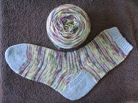 1 sock finished in Araucania