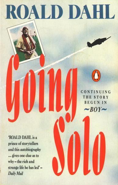 Aircrew Book Review Going Solo Roald Dahl