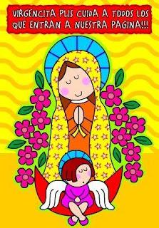 Any Tejiendo Y Aprendiendo Virgencita Plis Cuidame Mucho