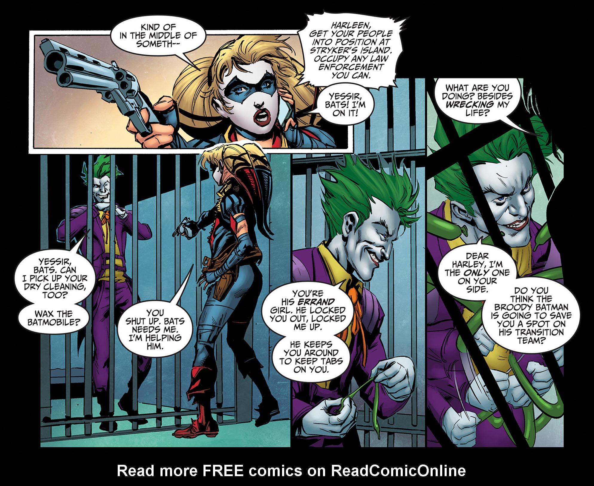 Read online Injustice: Ground Zero comic -  Issue #14 - 14