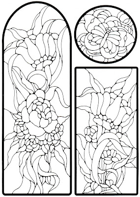 Imagenes Para Vitrales Para Colorear Faciles Dibujos Para Colorear