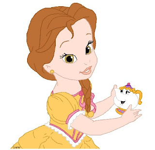 Princesa-Bella-Disney-Baby-colorir