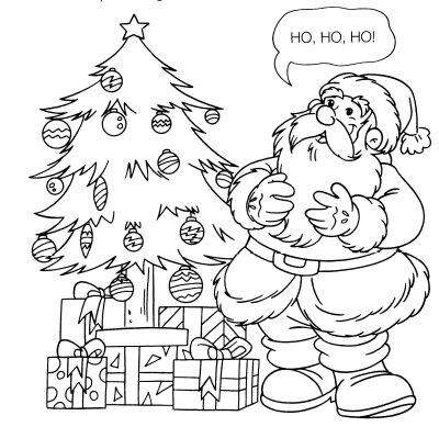Desenhos E Riscos De Arvores De Natal Para Colorir Desenhos E Riscos
