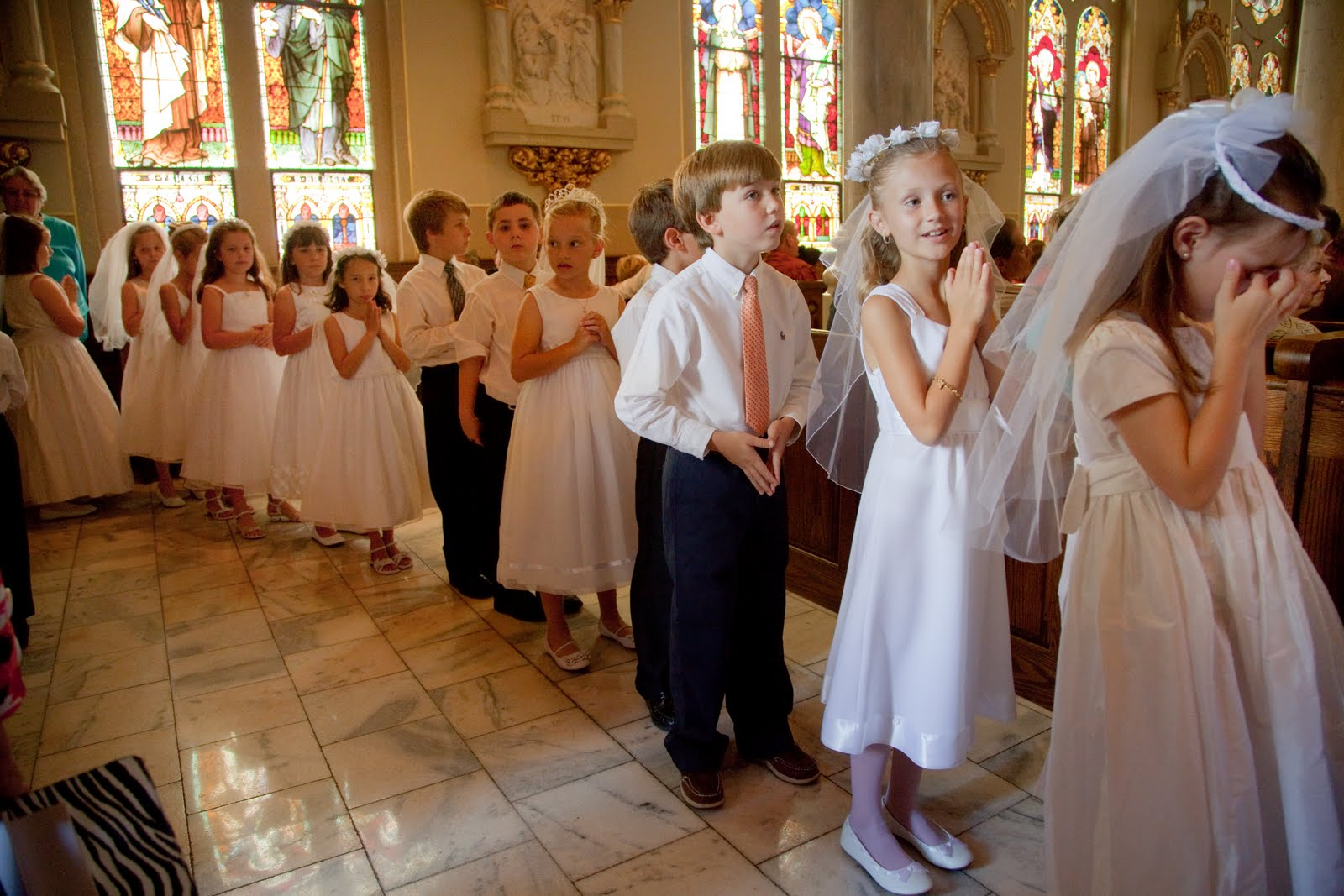 Southern Orders First Holy Communion