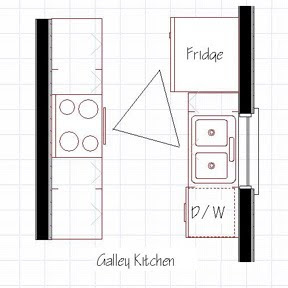 galley kitchen design plans homez deco kreative homez kitchen layout designkitchen 202