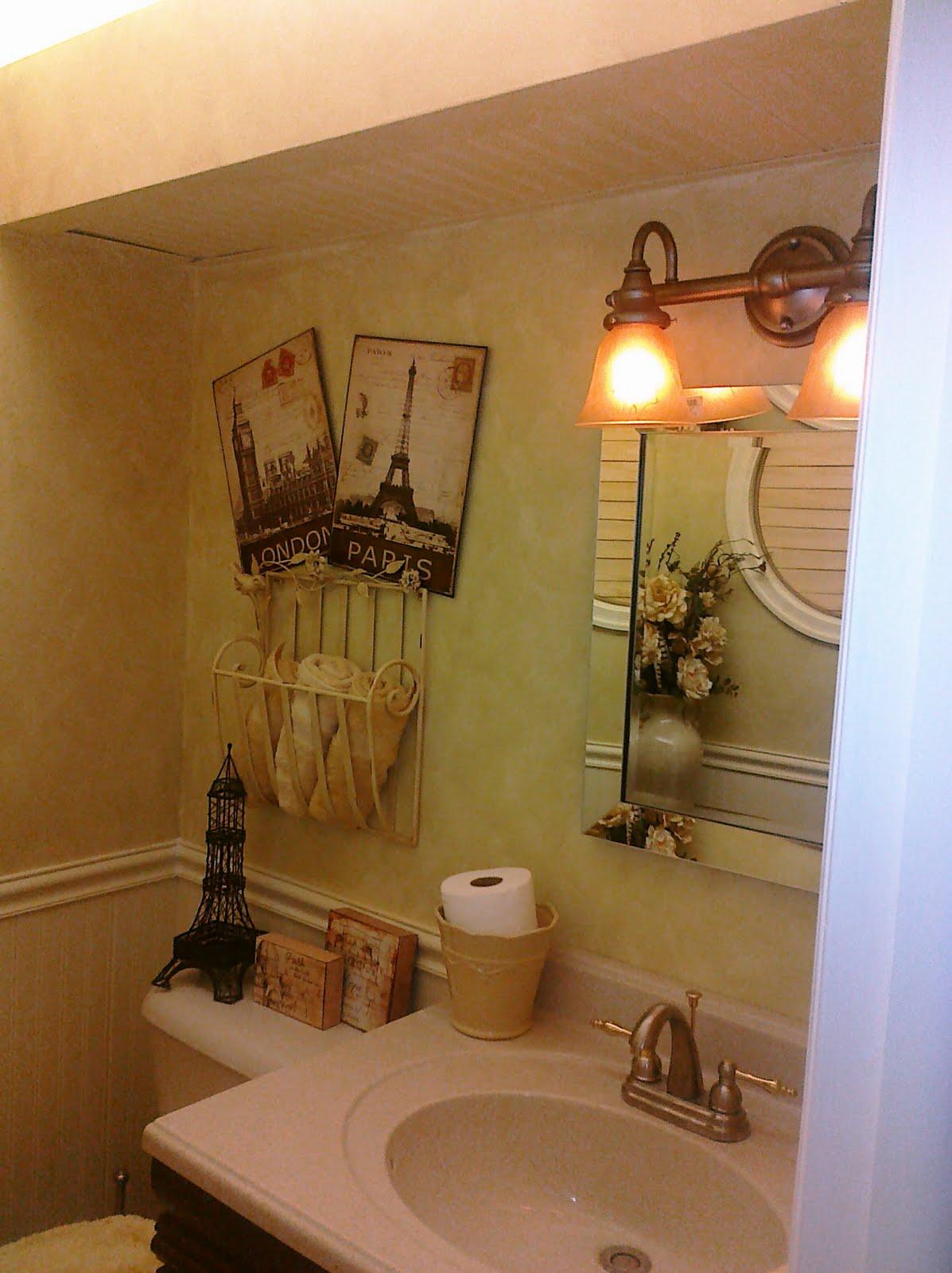 I Do Designs: Powder Room Makeover