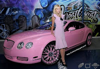 Galeria de fotos - Paris Hilton - carro Bentley 4