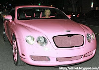 Galeria de fotos - Paris Hilton - carro Bentley