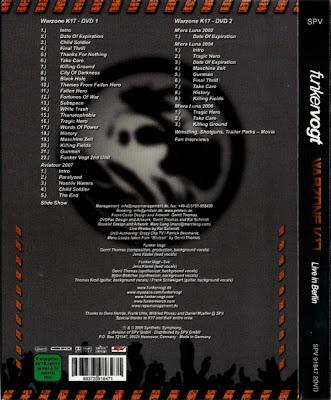 Download mp3 full flac album vinyl rip Black Hole - Funker Vogt - Warzone K17, Live In Berlin (DVD)