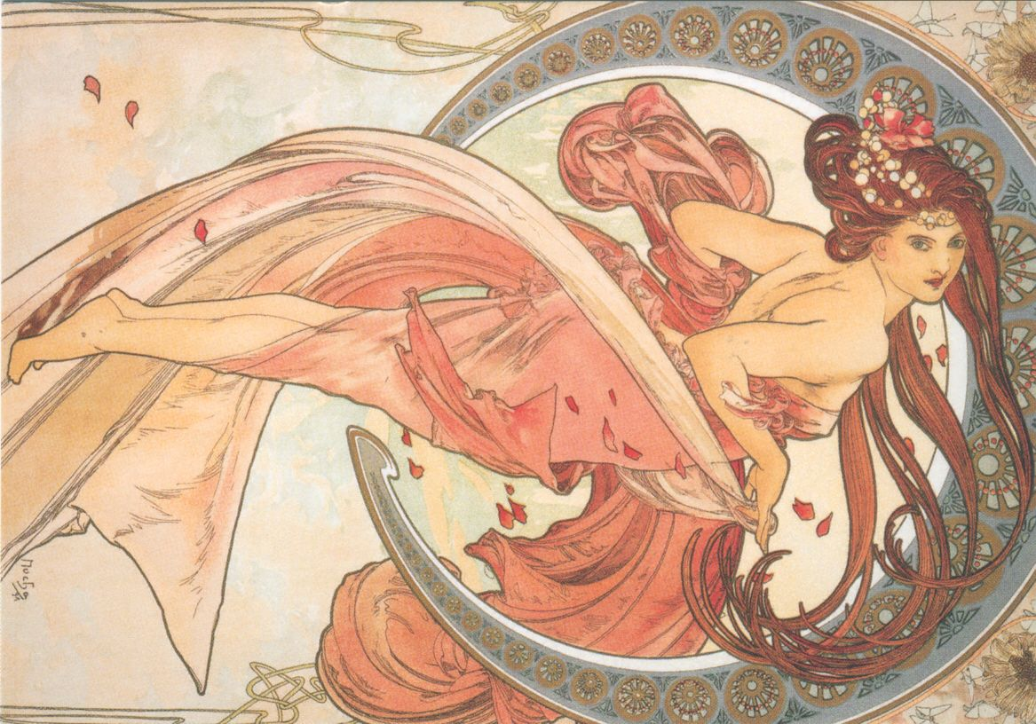 Same Sky Different Light Alphonse Mucha
