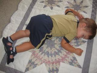 Grandson sleeping: LadyD Books