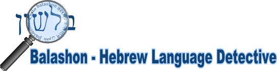 Balashon - Hebrew Language Detective