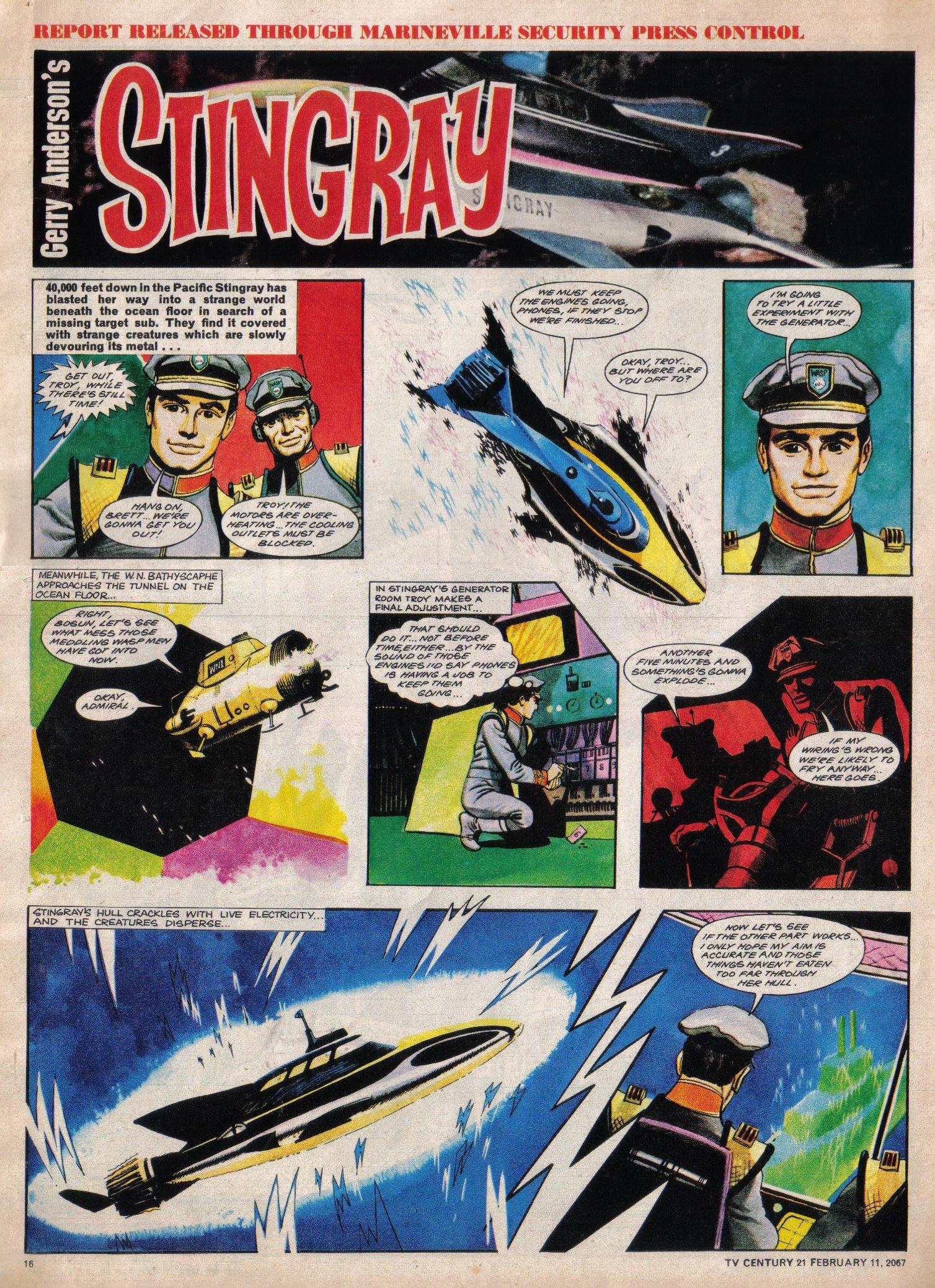 Read online TV Century 21 (TV 21) comic -  Issue #108 - 13