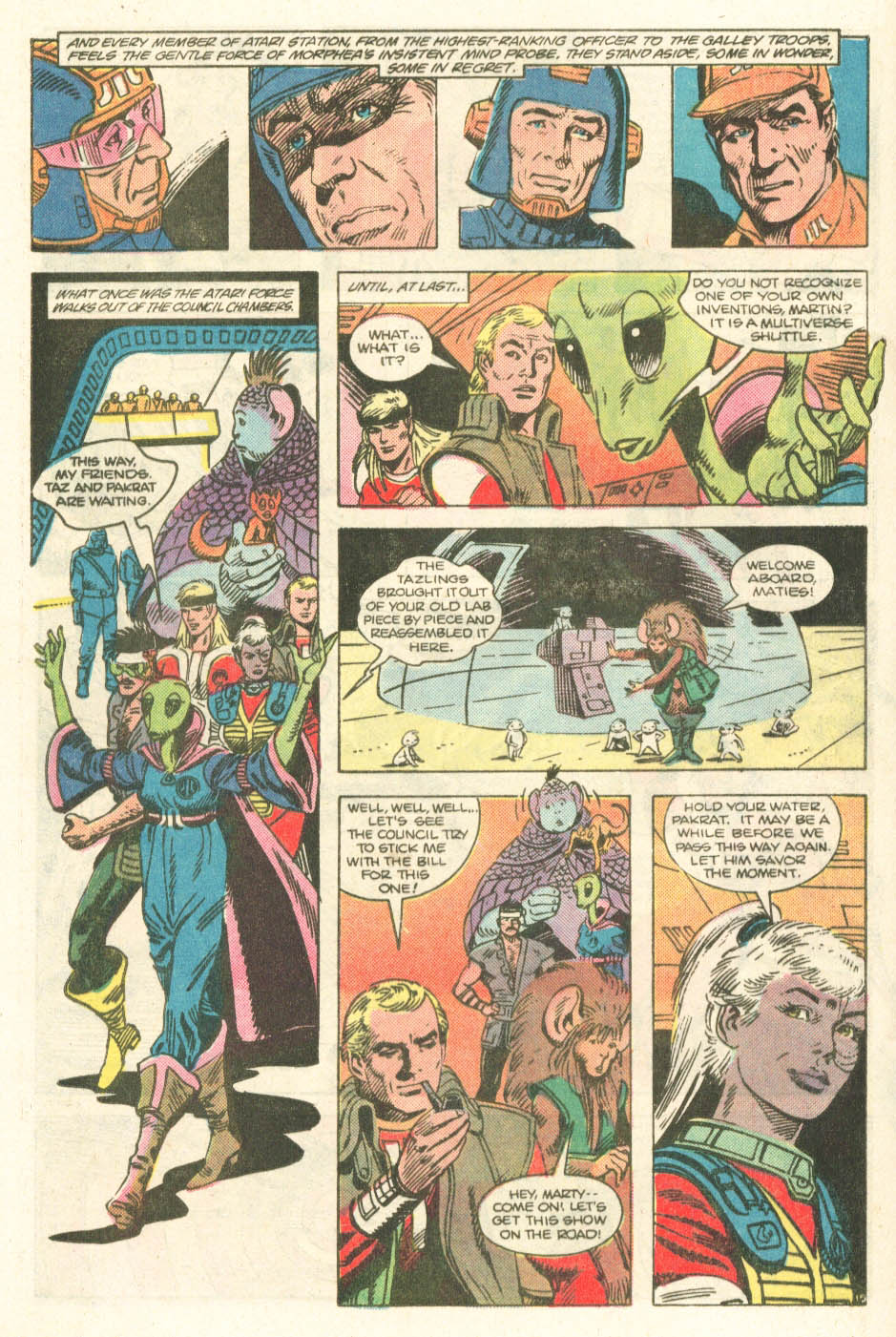 Read online Atari Force (1984) comic -  Issue #20 - 17