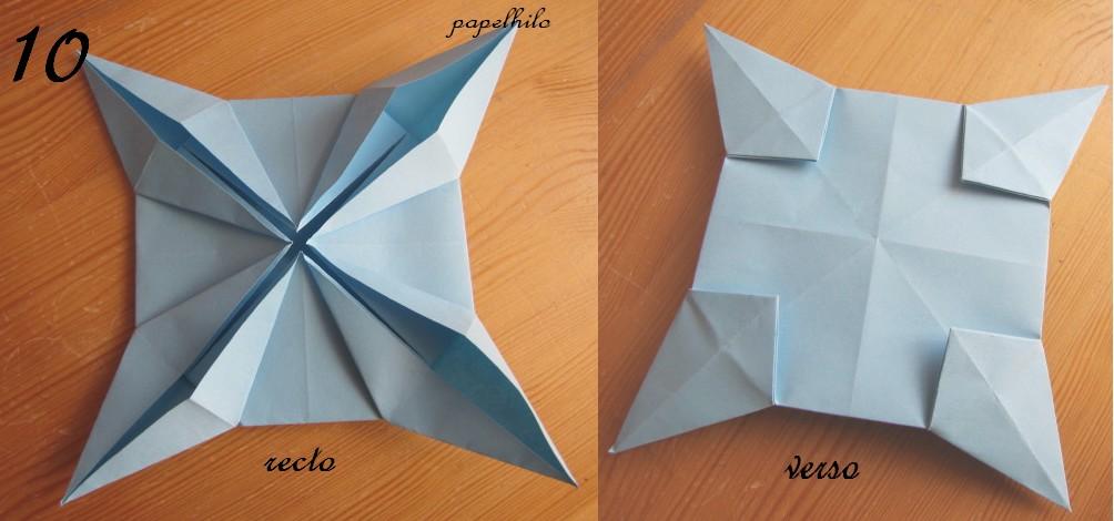papelhilo les cr ations de l 39 araign e tuto de l 39 toile de no l en origami. Black Bedroom Furniture Sets. Home Design Ideas