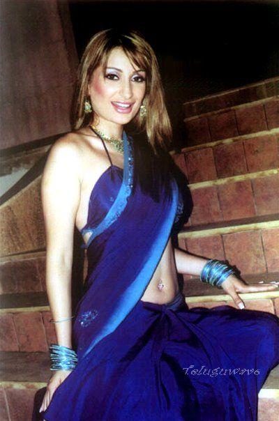 Fun Unlimited Hot Negar Khan In Saree-9259
