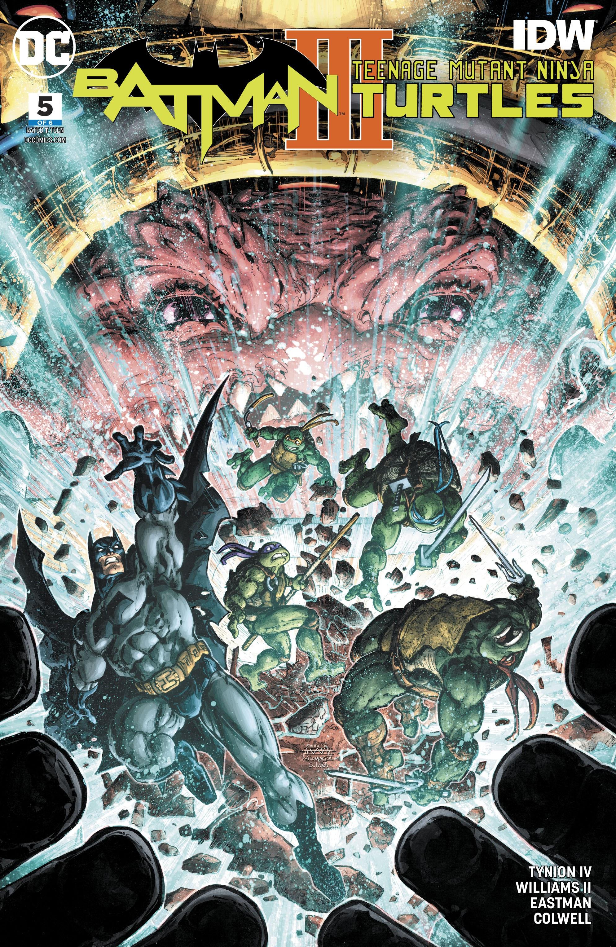 Batman/Teenage Mutant Ninja Turtles III 5 Page 1