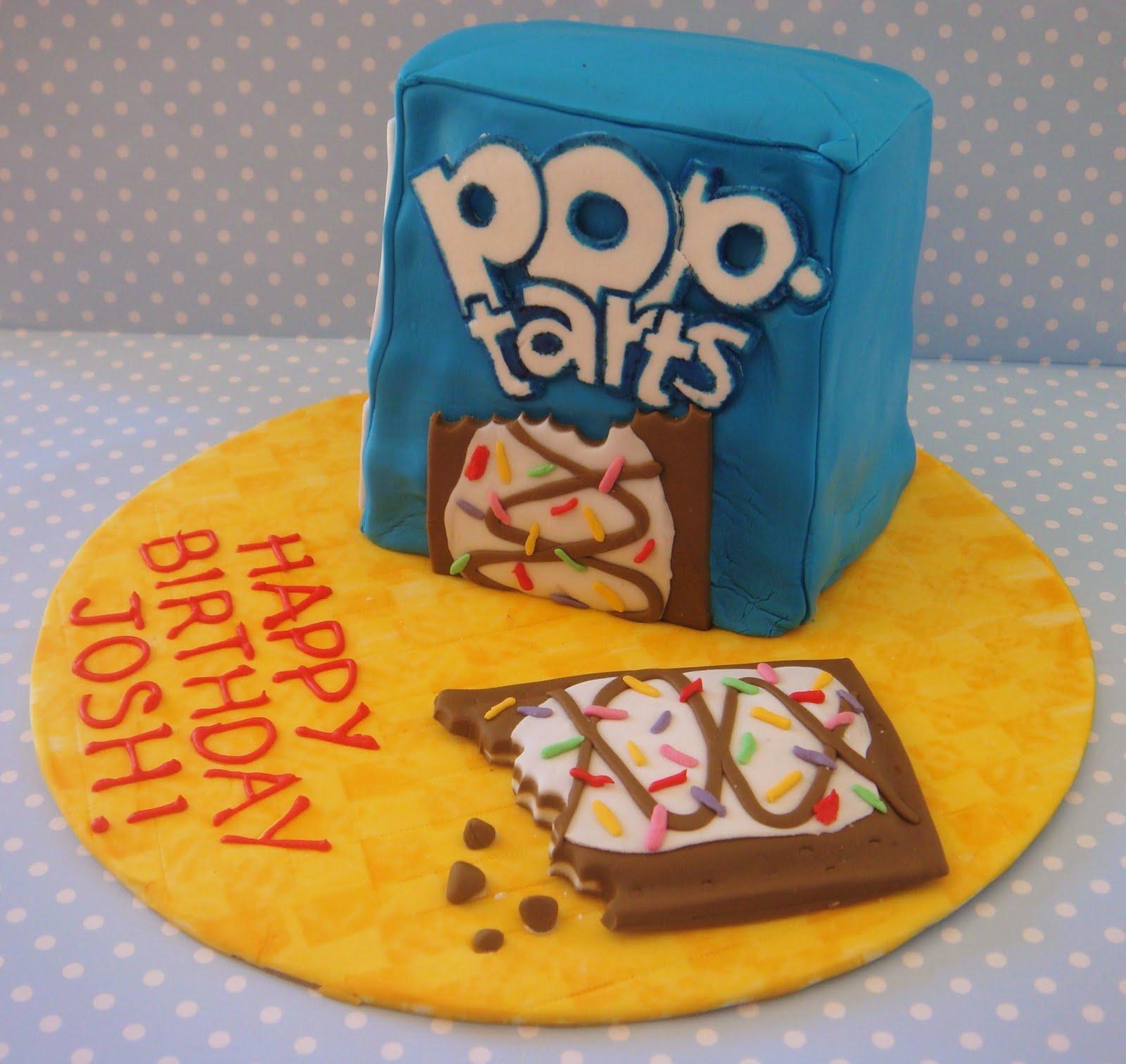 Butter Hearts Sugar Pop Tarts Cake