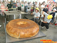 World's Largest Bagel - Source: Super Sized Meals