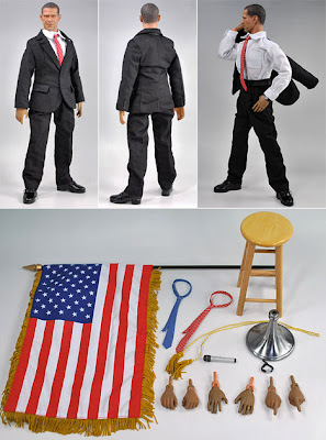 Obama Action Figure and Accessories