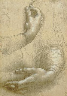 Leonardo da Vinci: Study of Hands