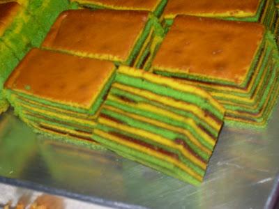 Resepi kesayangan,hobi,kecantikan dan apa-apa aje..: Kursus membuat Kek Lapis Sarawak