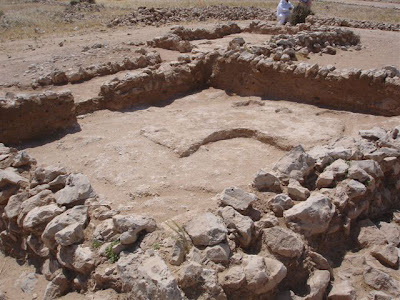 Murwab:Abbasid period [8th-9th centuries AD]house with plaster floor, axcavated 2007