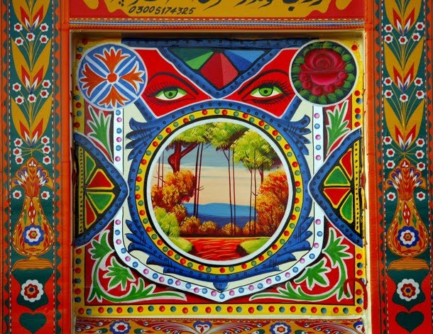 3d Wallpapers For Walls In Karachi Art Amp Artists Pakistani Truck Art