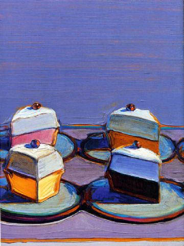 Art Amp Artists Wayne Thiebaud Cakes