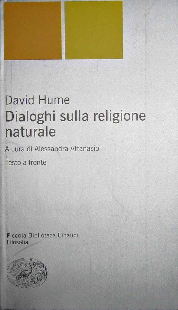 Dialoghi sulla religione naturale - David Hume
