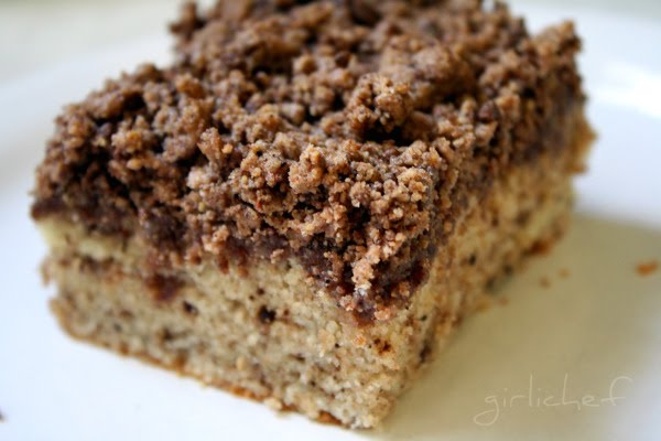 Mexican Chocolate Streusel Cake Aka Pastel De Chocolaté Mexicano At Www Girlichef Com