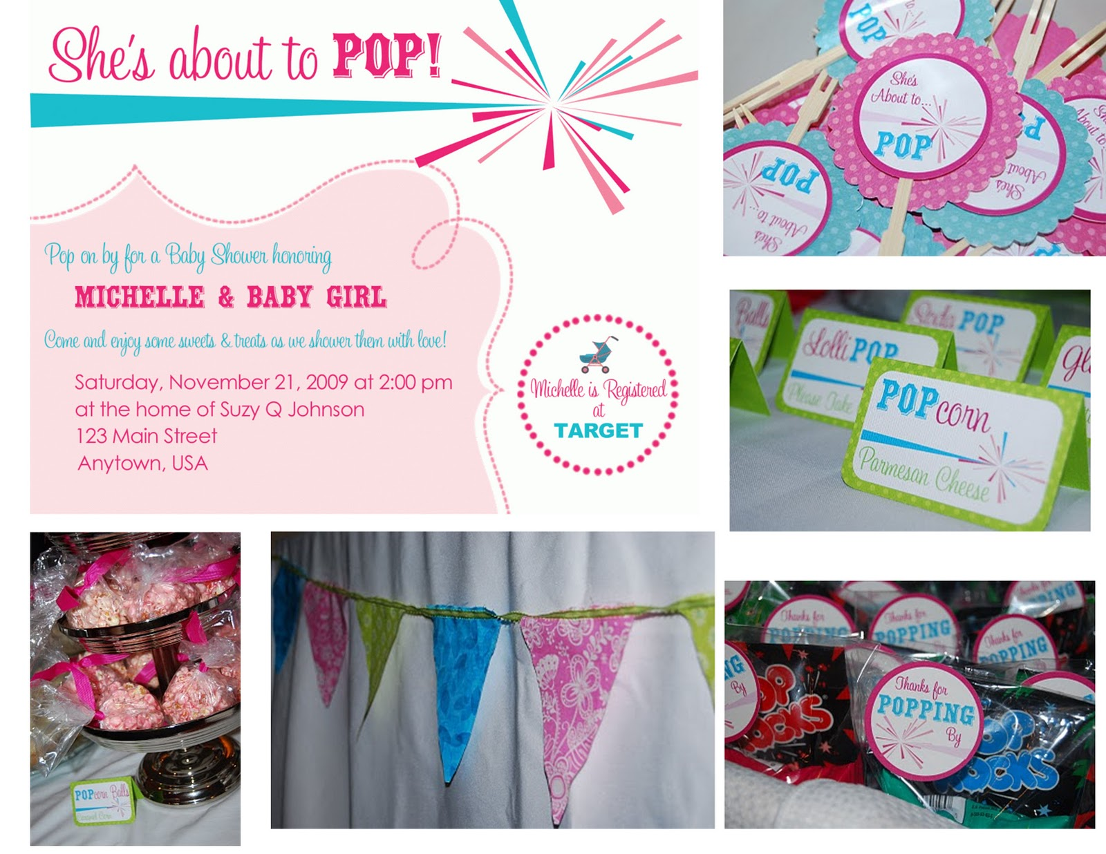 About To Pop Baby Shower Template | Party Invitations Ideas