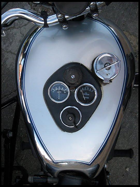 Ton Up Classics 1947 Triumph Tiger 100 Amp Dusting Sidecar