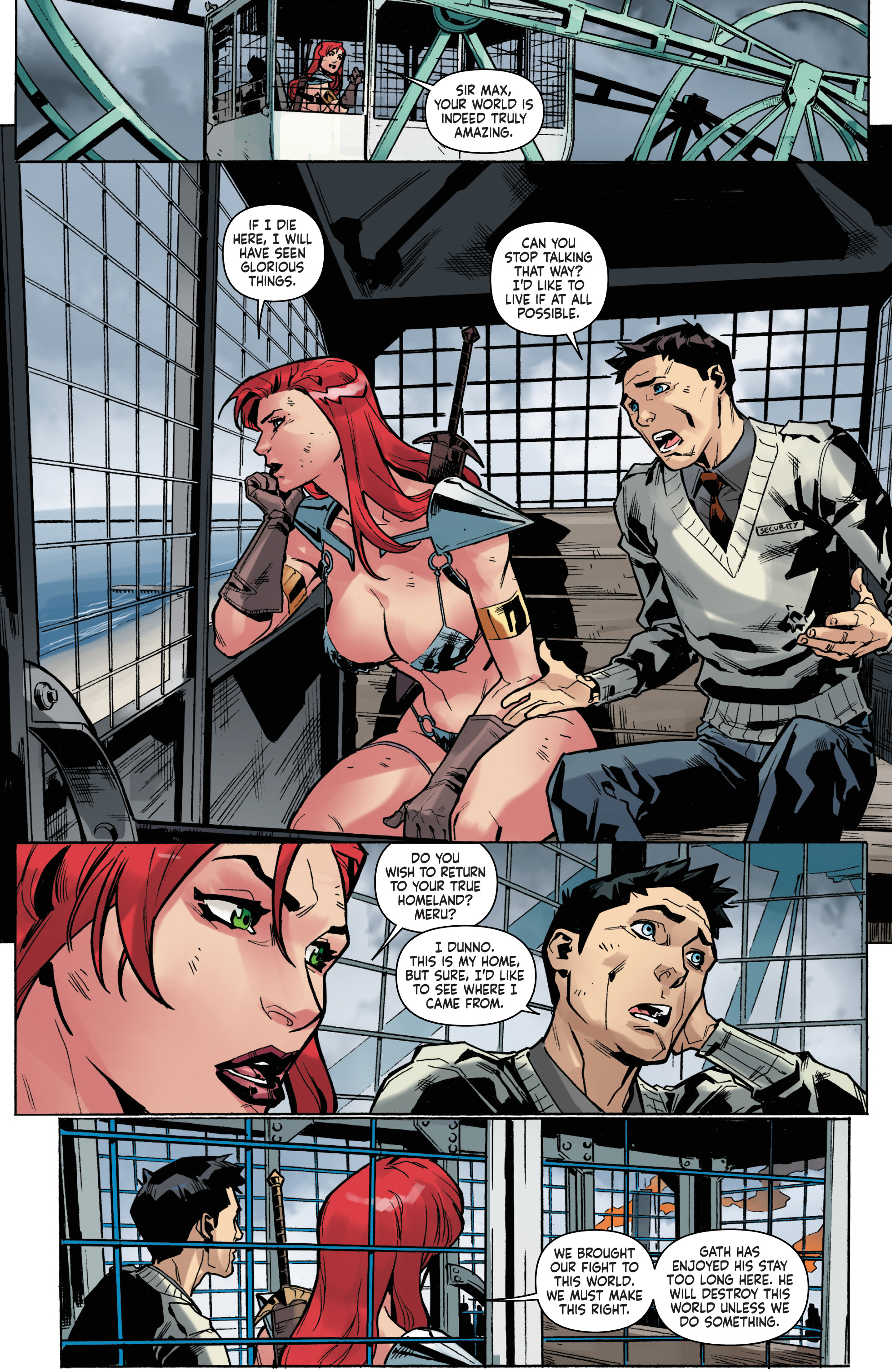 Read online Red Sonja Vol. 4 comic -  Issue #5 - 19