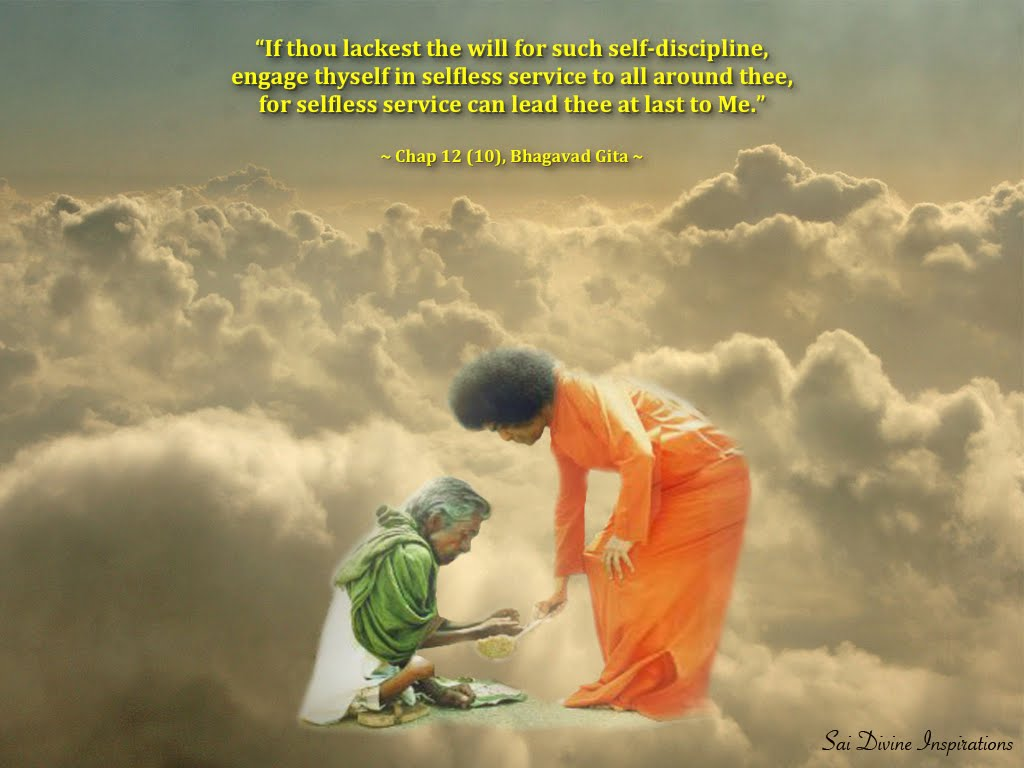 SAI DIVINE INSPIRATIONS: Selfless Service