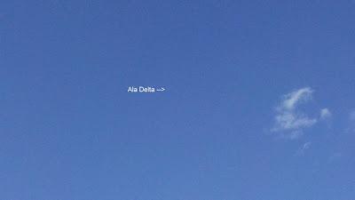 A esa distancia se observaron las alas delta