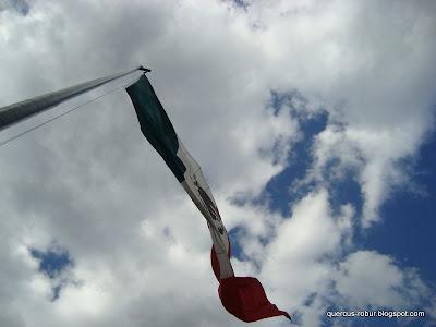 Asta bandera, Bandera de México