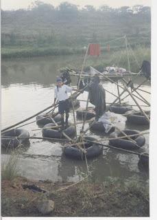 Campamento acuático