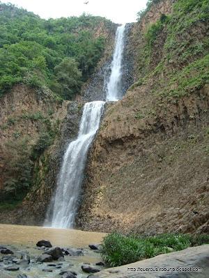 La cascada del Salto de Nogal