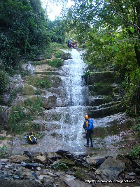 Cascada en afluente al barranco Chuveje