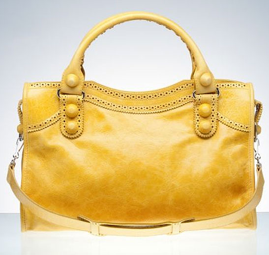 Giant Covered Moutarde Yellow City Bag