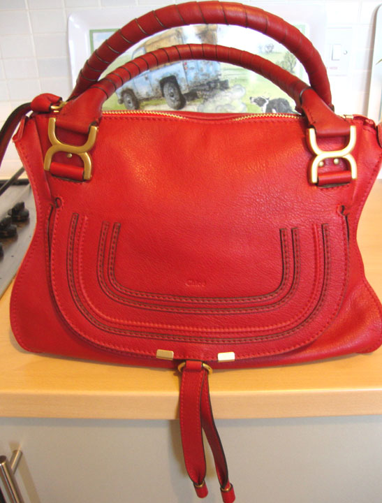 70bd325ea70 It is very hard to find a fabulous Red bag that doesn't wear you. I think  Marcie is that bag because she lifts your spirits just too look at her and  lifts ...