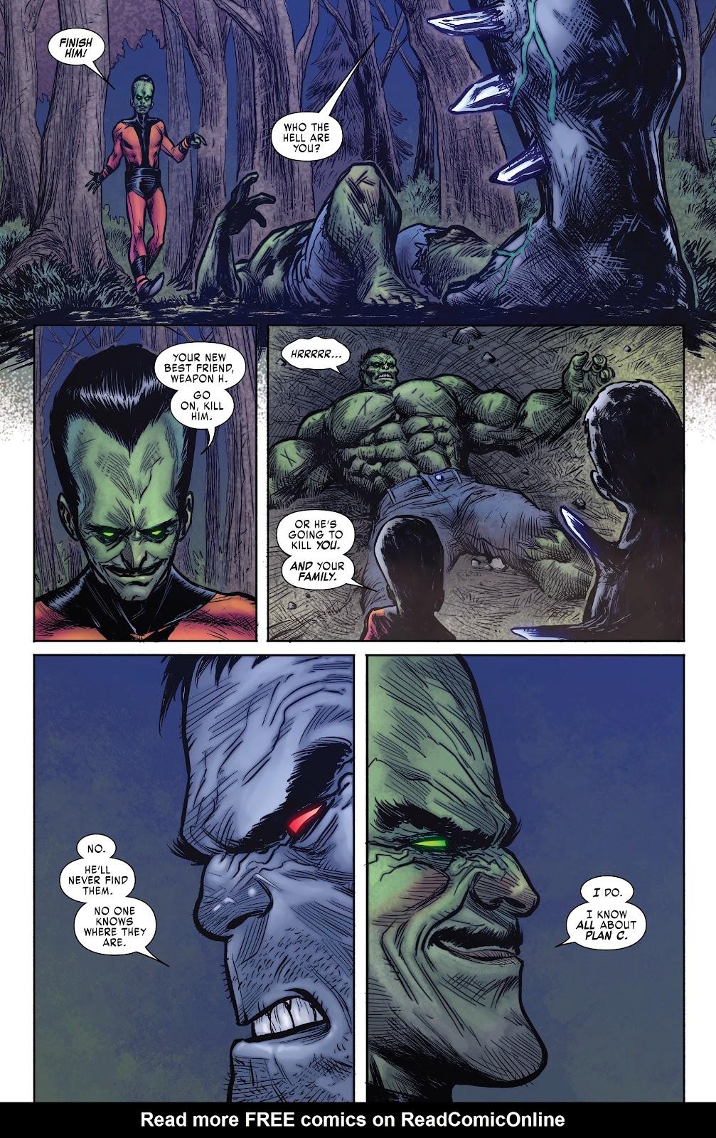 Read online Hulkverines comic -  Issue #1 - 26